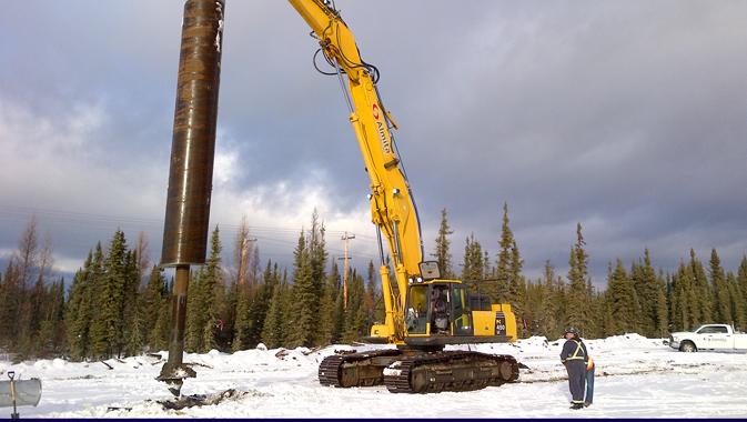 Canada's Leading Screw Pile Provider