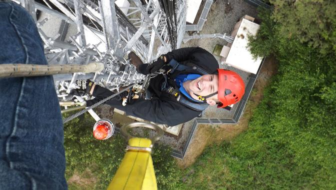 The Engineers Who Climb Towers